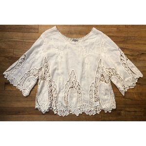 Jodifl boho Embroidered blouse top